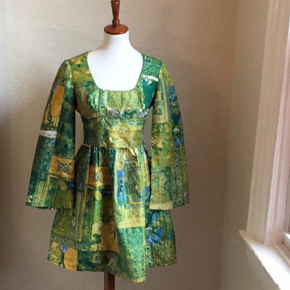 Vintage Dresses & Skirts - Vintage dress. Homemade. Possible size medium..